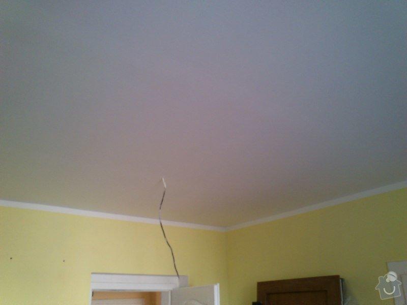 Snížení a zateplení stropu v kanceláři, včetně malování: sk17i_020