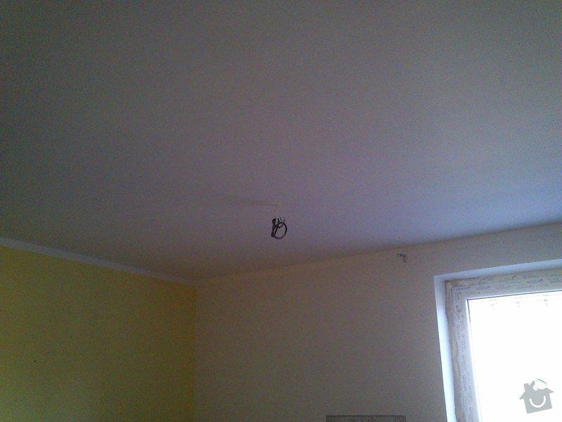 Snížení a zateplení stropu v kanceláři, včetně malování: sk17i_021