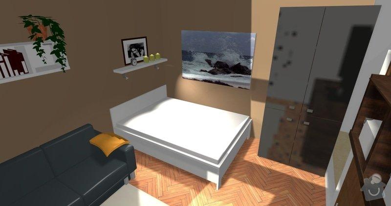 Poptávka návrh a rekonstrukce bytového jádra - 2+1, Vídeňská, Brno: P1_viz1