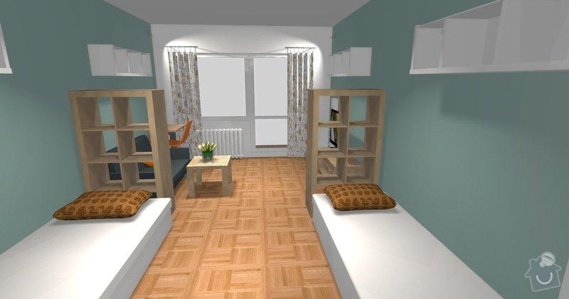Poptávka návrh a rekonstrukce bytového jádra - 2+1, Vídeňská, Brno: P1_viz2