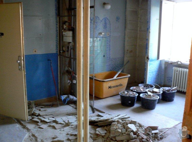 Poptávka návrh a rekonstrukce bytového jádra - 2+1, Vídeňská, Brno: P1040087