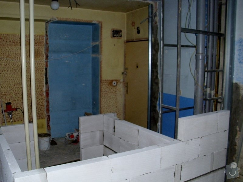 Poptávka návrh a rekonstrukce bytového jádra - 2+1, Vídeňská, Brno: P1040088