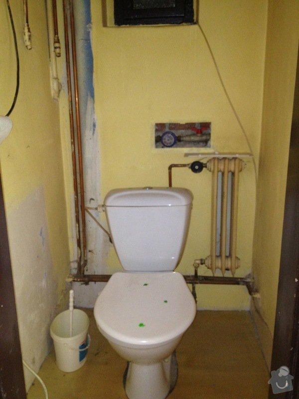 Obkladačské práce: toaleta