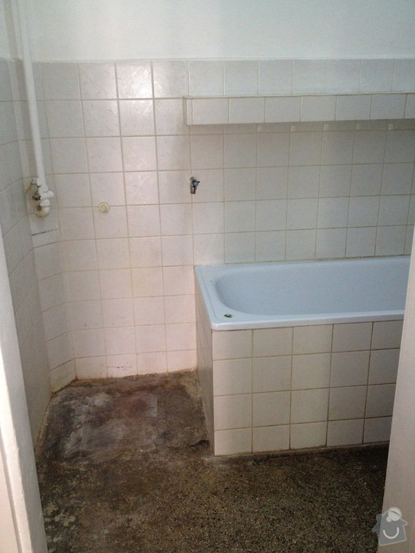 Obkladačské práce: koupelna2