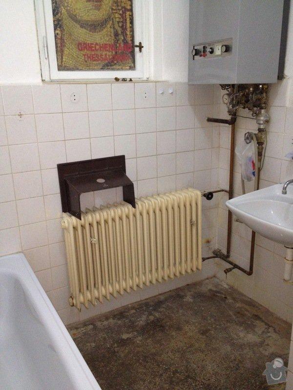 Obkladačské práce: koupelna1