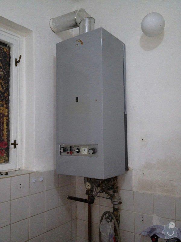 Topenářské práce: koupelna_kotel