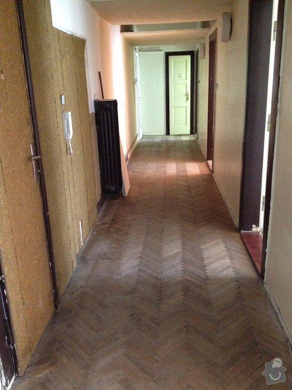 Malířské práce byt 3kk/100m2(chodba, komora, koupelna, toaleta): chodba