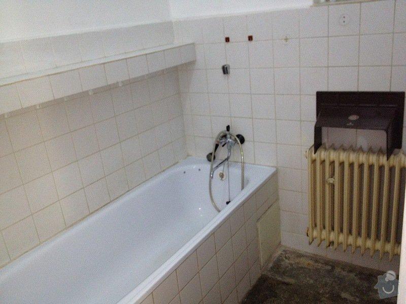 Malířské práce byt 3kk/100m2(chodba, komora, koupelna, toaleta): koupelna3