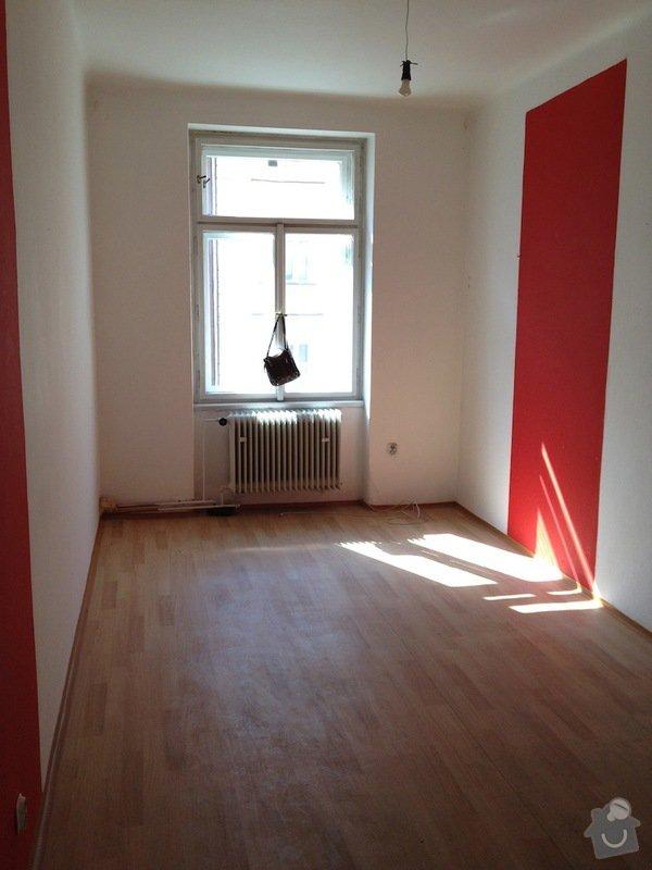 Malířské práce byt 3kk/100m2(chodba, komora, koupelna, toaleta): kuchyn1