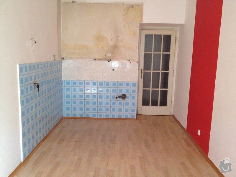 Malířské práce byt 3kk/100m2(chodba, komora, koupelna, toaleta): kuchyn2