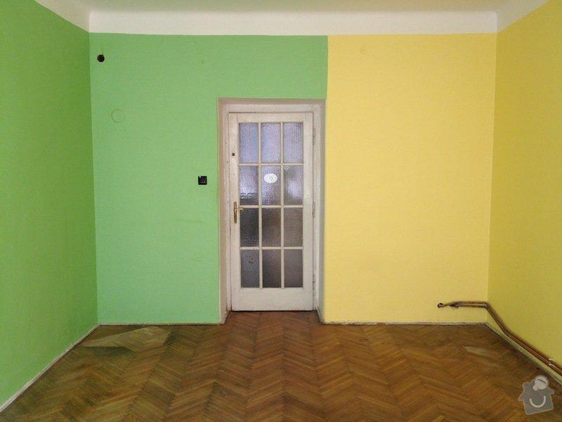 Malířské práce byt 3kk/100m2(chodba, komora, koupelna, toaleta): loznice2
