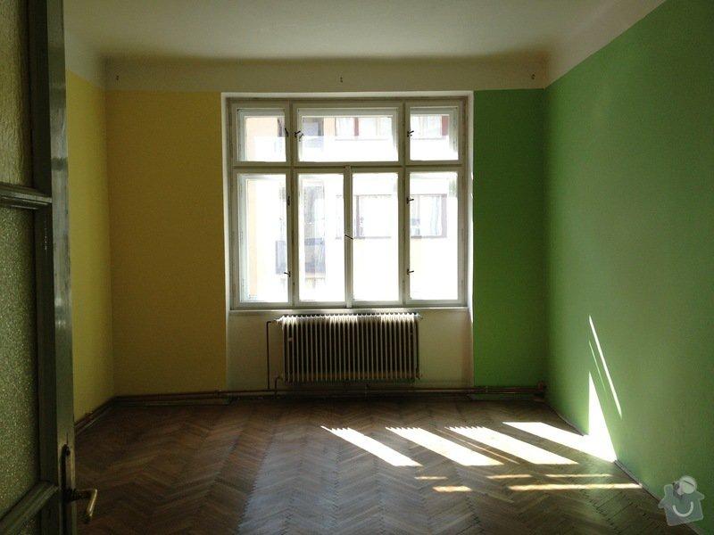 Podlahářské práce/ parkety: loznice1