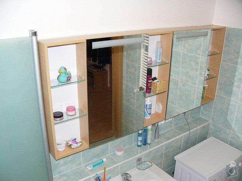 Montáž vybavení koupelny: P1160043