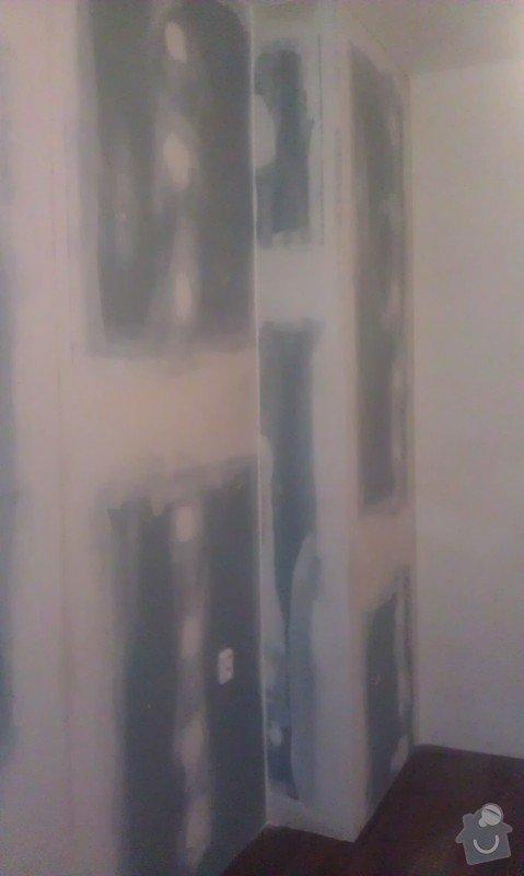 Akustická předstěna, odhlučnění bytu: IMAG0048