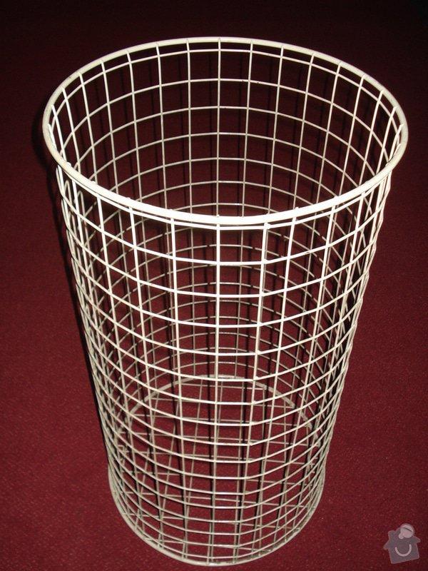 Velké drátěné odpadkové koše: okdv