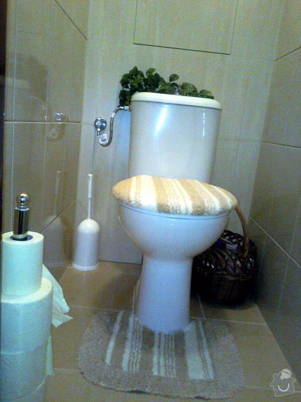 Vyrobení zadní stěny na záchodě: fotografie0178