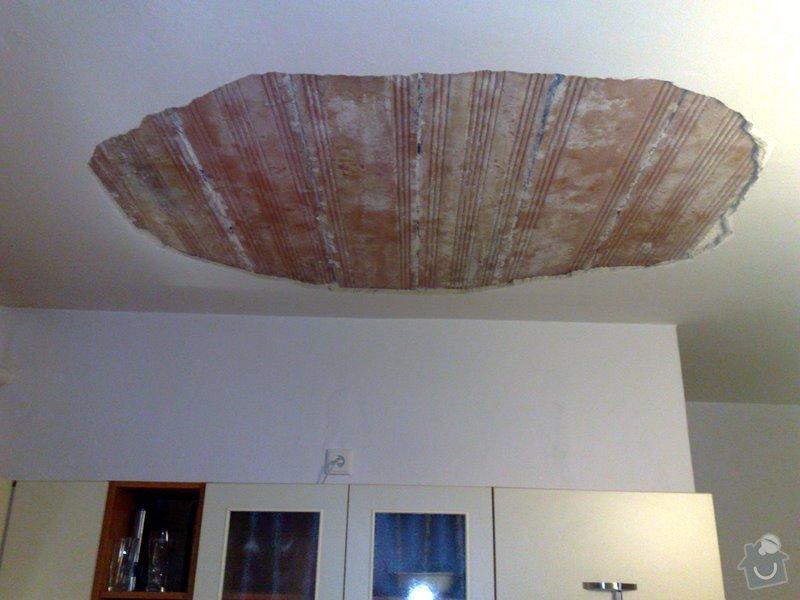 Opprava stropu v rodinném domku (2 pokoje): 040320125275