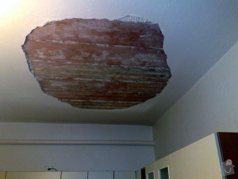 Opprava stropu v rodinném domku (2 pokoje): 040320125277