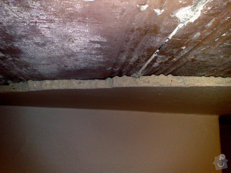 Opprava stropu v rodinném domku (2 pokoje): 040320125278