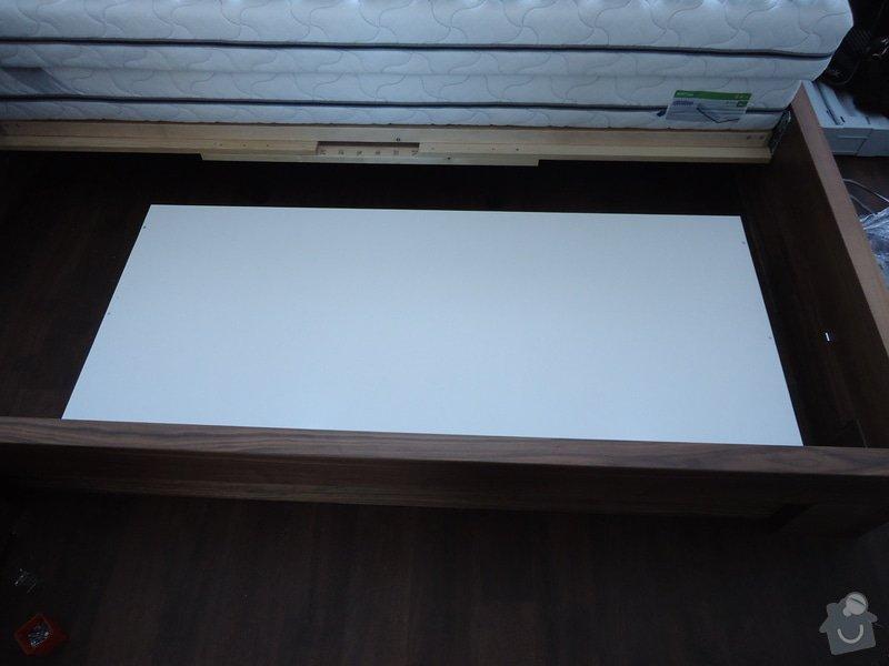 Výroba + montáž skříně, regálů: DSC00261
