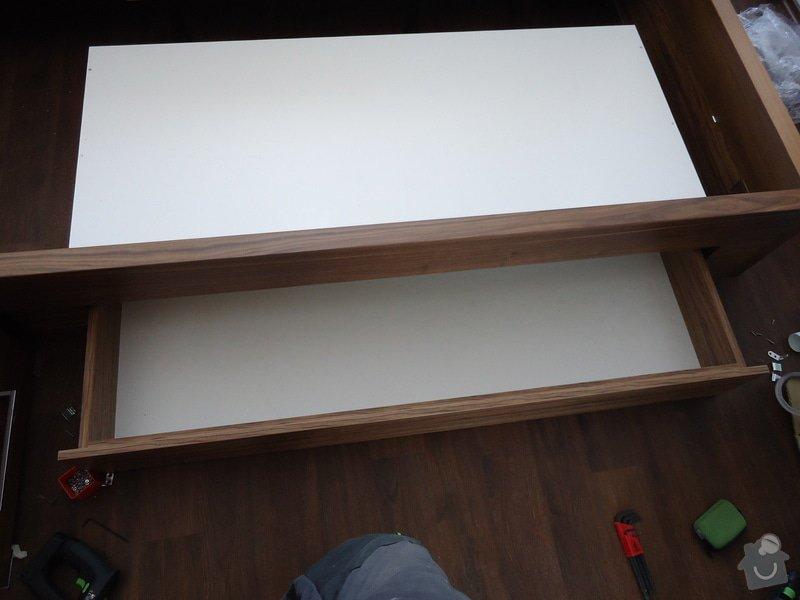 Výroba + montáž skříně, regálů: DSC00264