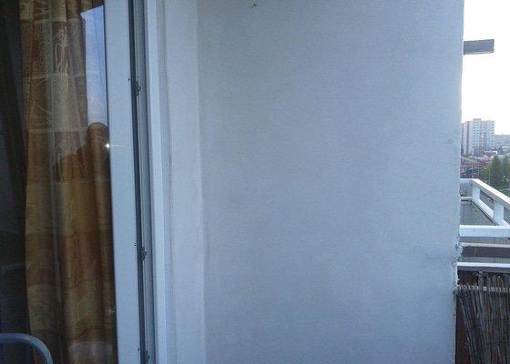 Zednické práce -balkon v paneláku