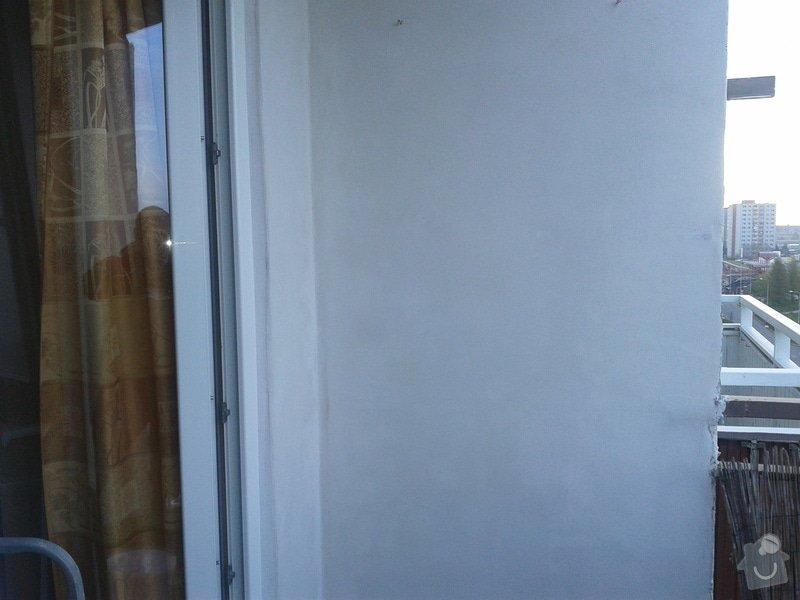 Zednické práce -balkon v paneláku: Fotografie-0020