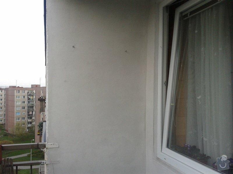 Zednické práce -balkon v paneláku: Fotografie-0018