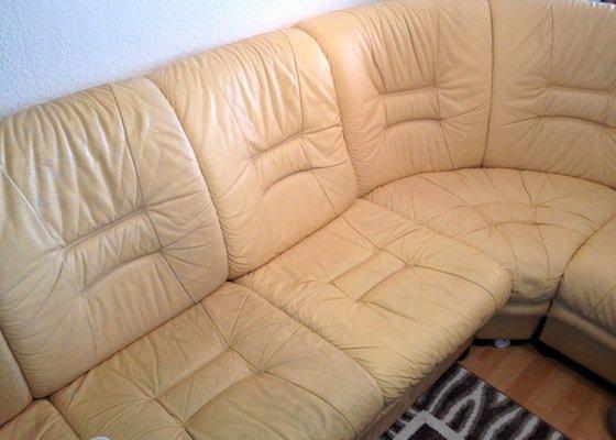 Čištění kožené sedačky, čištění koženého křesla, čištění koženého taburetu