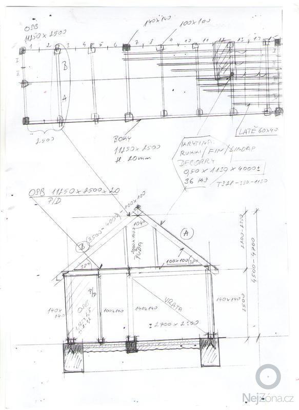 Tesařské práce dřevěný skelet boudy: Snimek_136