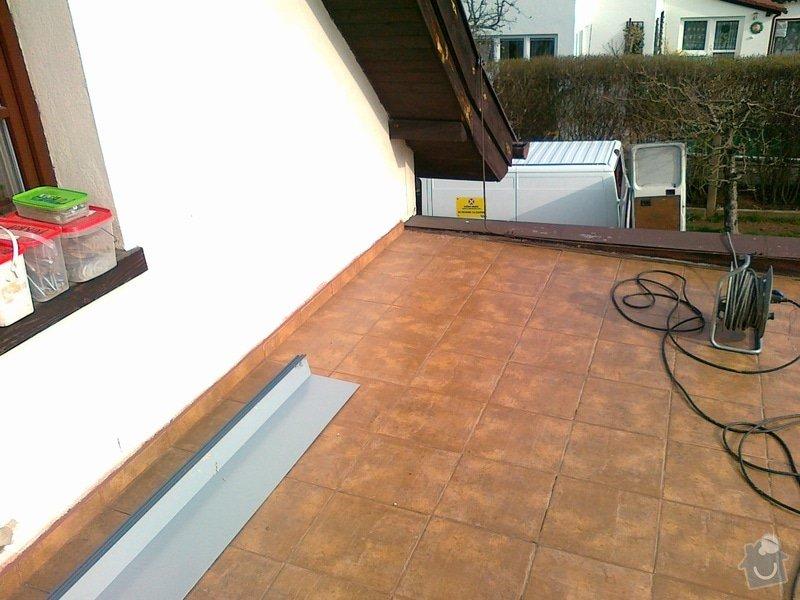 Rekonstrukci povrchu terasy 33 m2: 14042012351