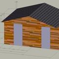 Stavbu zahradniho domku schema