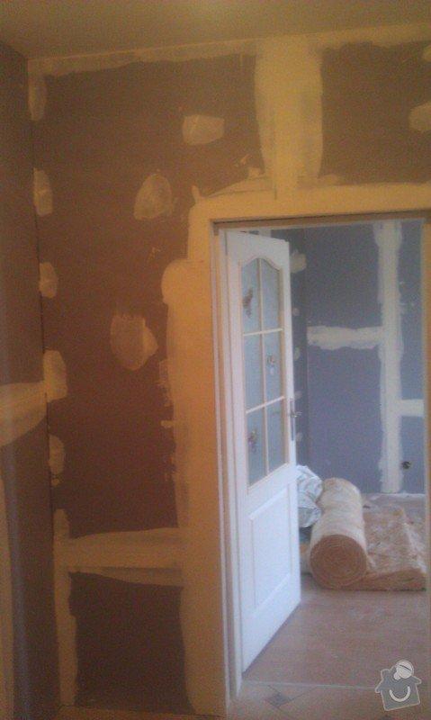 Odhlučnění bytu, odhlučnění stěn, akustické příčky, sádrokartony: IMAG0133