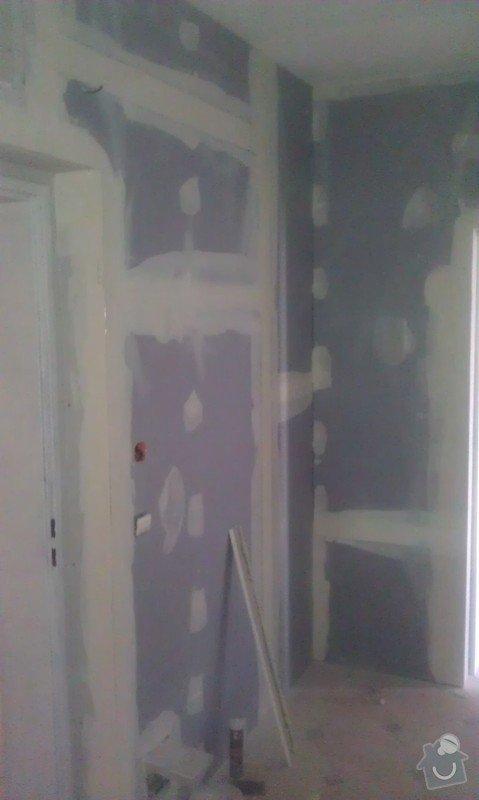 Odhlučnění bytu, odhlučnění stěn, akustické příčky, sádrokartony: IMAG0142