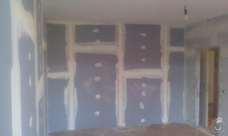 Odhlučnění bytu, odhlučnění stěn, akustické příčky, sádrokartony: IMAG0129