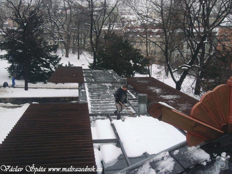 Celoroční pravidelná měsíční údržba Havlíčkovy sady Vinohrady  : Fotografie007