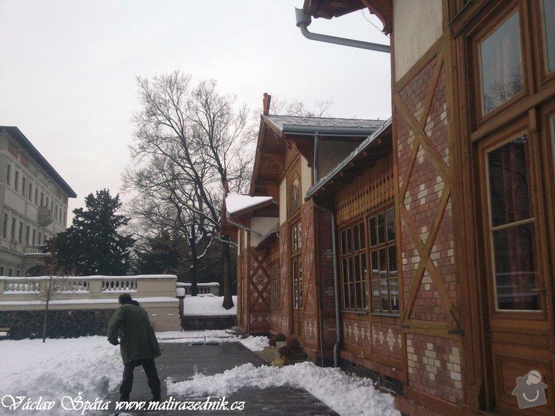 Celoroční pravidelná měsíční údržba Havlíčkovy sady Vinohrady  : Fotografie017