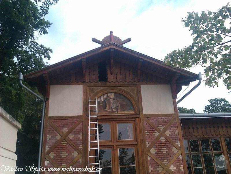 Celoroční pravidelná měsíční údržba Havlíčkovy sady Vinohrady  : IMAG0095