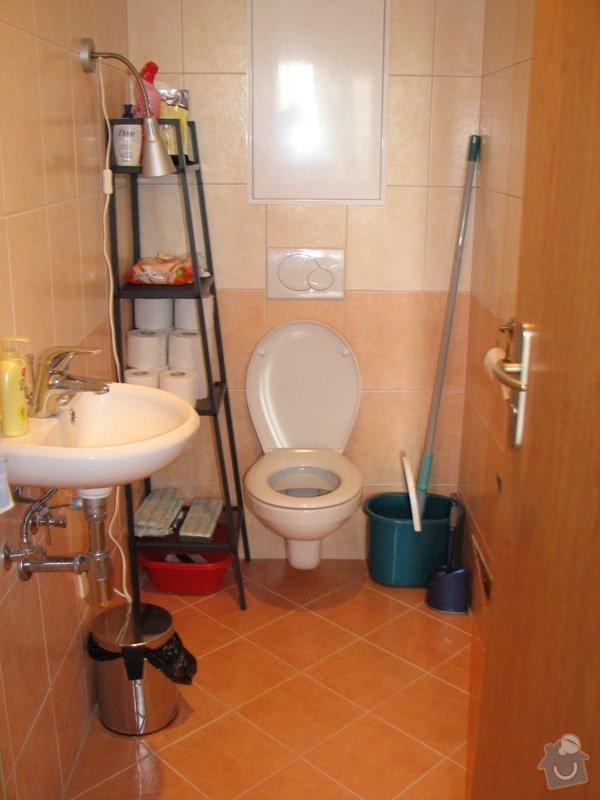 Vyřešení úložných prostor na WC: WC