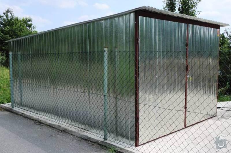 Plechová montovaná garáž: DSCN1207