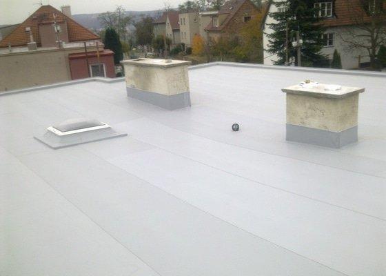 Rekonstrukce ploché střechy včetně zateplení