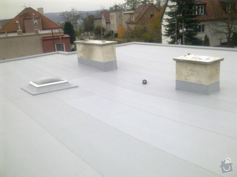 Rekonstrukce ploché střechy včetně zateplení: Obraz0186
