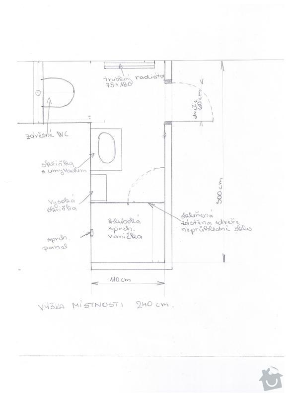 Výstavba koupelny: koupelna