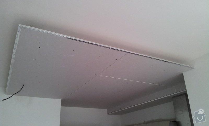 Montaz podhledu, kuchynsky kout: 20120411_130934