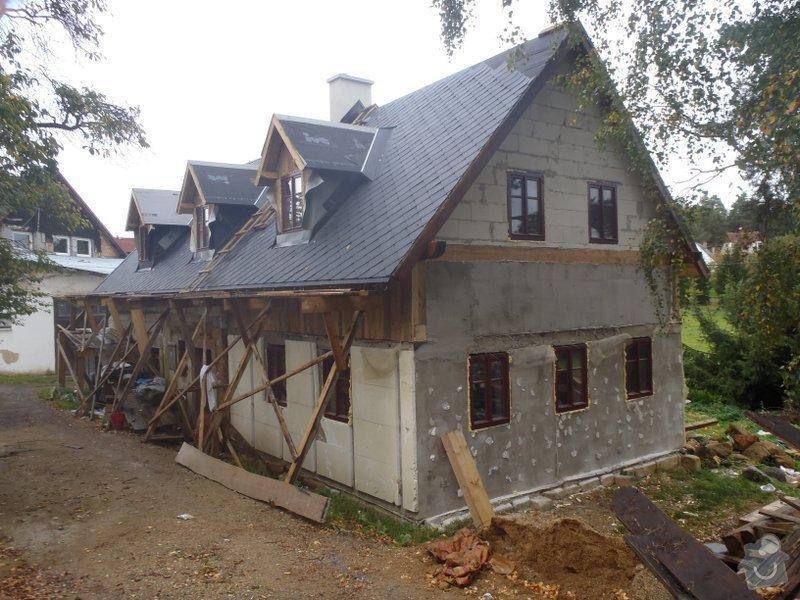 Dokončení rekonstrukce chalupy v Rynolticích (okr. Liberec) : PA080114
