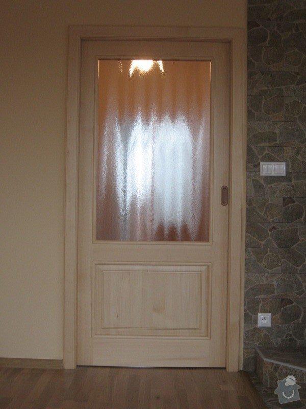 Dřevěné schodiště, vnitřní dveře: drevene-schodiste-vnitrni-dvere_Zajic_7