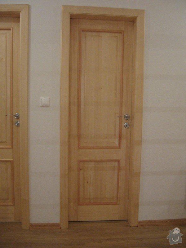 Dřevěné schodiště, vnitřní dveře: drevene-schodiste-vnitrni-dvere_Zajic_10