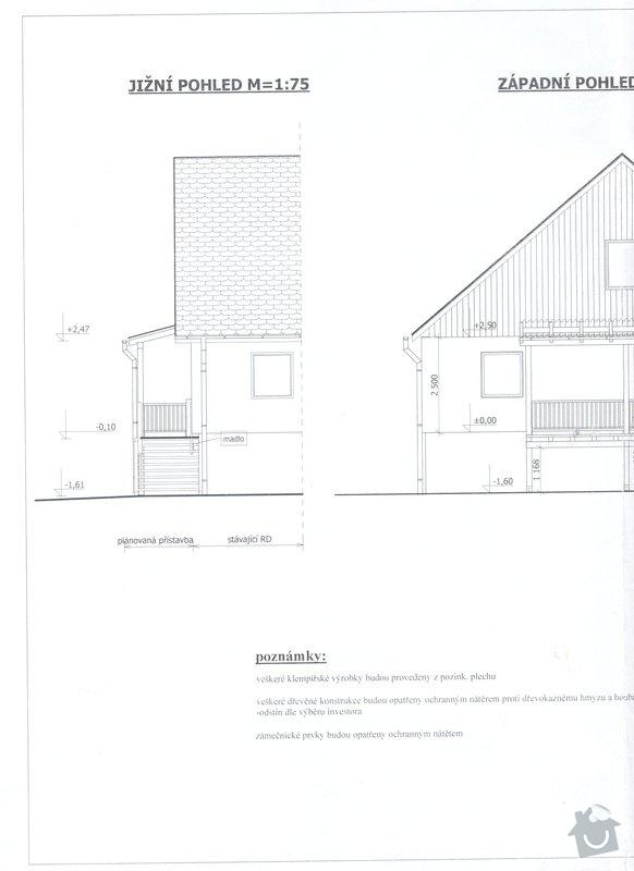 Dřevěná přístavba - terasa: celk_pohled2