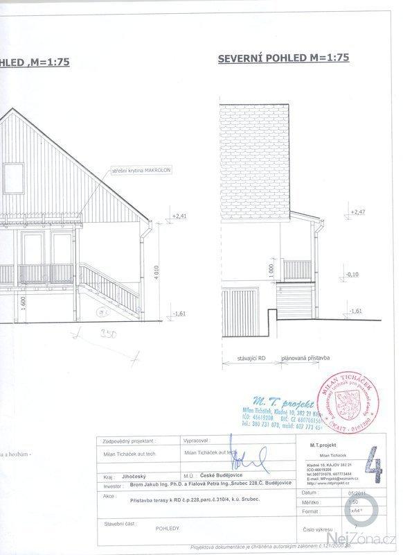 Dřevěná přístavba - terasa: celk_pohled3