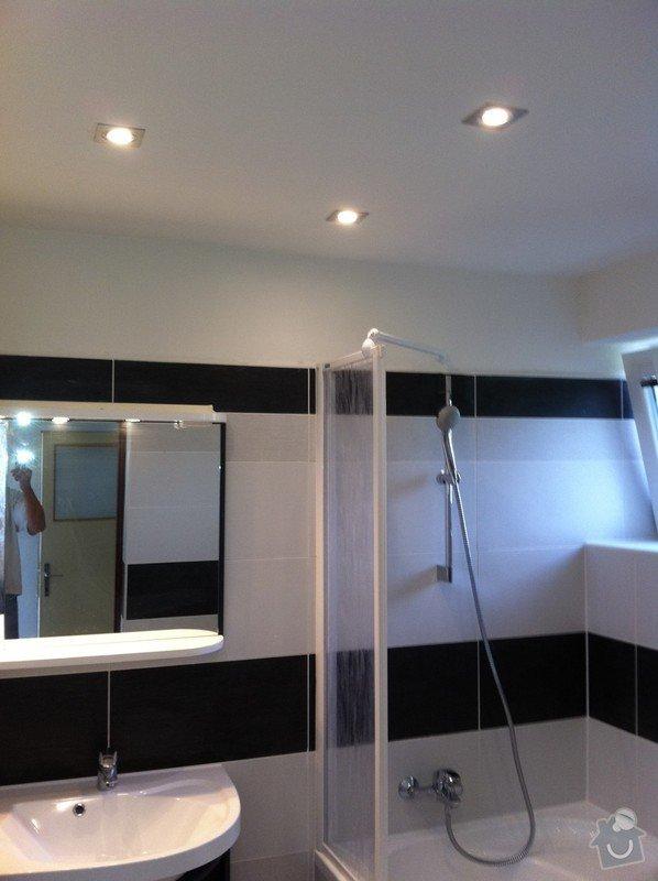 Rekonstrukce RD. Voda, el.instalace, omítky, obklady, dlažby,podlahy: bil3